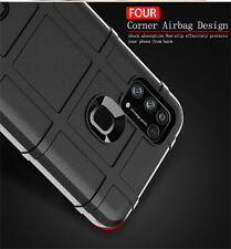 For Samsung Galaxy M31 M30S M21 Shockproof Rugged Armor Soft TPU Case Matte Cove