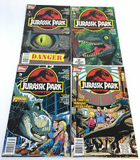 1993 JURASSIC PARK comics #1 2 3 4 ~ FULL SET ~ NEWSSTAND VARIANTS
