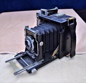 VTG Graphex Speed Graphic 2 ½ x 3 ½ Press/View Camera Graflex Optar 101mm f:4.5