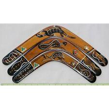 qty8 Australian Made 29cm plantation timber blank boomerangs ready to decorate