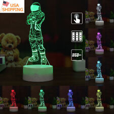 3D Led Night Light Touch Table Desk Lamp Brithday Gift 7 Color Dark Travele