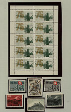 Switzerland  soldier stamps  lot  and a few covers