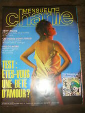 Charlie mensuel N° 31 1984 Humour BD Charme Mora Parras Franck Golo Condor Zoé