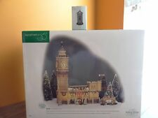 Dept56 58341 Big Ben Clock Tower English Post Mail Box Dickens Christmas Village