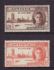 1946 Antigua Victory Set Mounted-Mint.