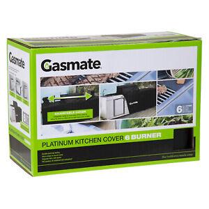 Gasmate Platinum Professional 6 Burner Kitchen Package BBQ Cover Gasmate
