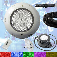 Swimming Pool LED Light RGB - Above Ground / Vinyl - Bright + Power + Cable NEW