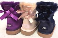 Ugg Australia Mini Bailey Bow Flowers Girl's Boots 1016234 Sheepskin Shearling