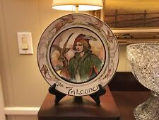 "Royal Doulton ""The Falconer"" Collectible Display Plate The Professionals D6279"