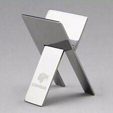 Cohiba Stainless Steel Foldable Cigar Stand Ashtray Holder UK Stock