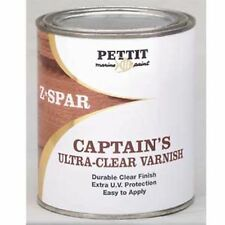 Pettit 2067Q Captain's Ultra Clear Varnish Quart