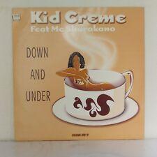 "Kid Creme Feat. MC Shurakano – Down And Under (Vinyl, 12"", Maxi 33 Tours)"