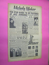 MELODY MAKER. August 18th 1951. JAZZ & SWING etc. MUSIC MAGAZINE. VINTAGE MAG