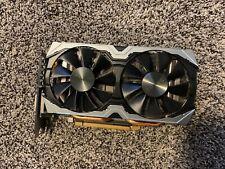 New listing Zotac GeForce Gtx 1060 Amp 6Gb Gddr5 Graphics Card (Zt-P10600B-10M)