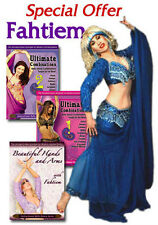 Belly Dance with Fahtiem 3 DVD Set - Learn Belly Dancing