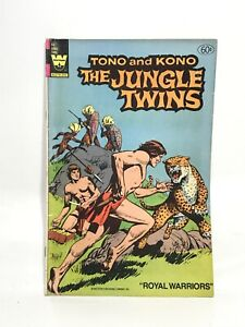 Whitman 18 Tono and Kono The Jungle Twins 1972 Royal Warriors