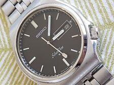 Excellent Seiko Automatic Silver Wave 6306-8070 21j Vintage 1978