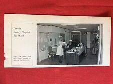 m2k ephemera 1975 picture lincoln eye hospital nurse massey and staff