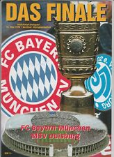 Orig.PRG   DFB Pokal  1997/98  FINALE  BAYERN MÜNCHEN - MSV DUISBURG !!  SELTEN