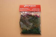 V761 Jordan Ho train decor lichen automne + arbre fleur bois vert brun jaune 37g