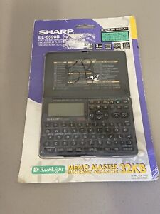 NEW! SHARP EL-6590B MEMO MASTER Electronic Organizer 32kb 9 BUILT-IN FUNCTIONS