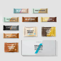 Protein Snack Box, Protein Bar, Protein Cookie, CHRISTMAS GIFT, My Protein