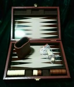 Travelling Backgammon Set