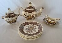 Mason's Patent Ironstone Ascot England Pattern 9 Pieces All together See Listing