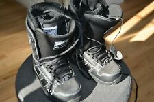 ThirtyTwo 32 Exus Snowboarding Snowboard Boots Size 6 Black