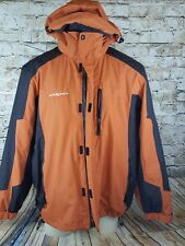 ZeroXposur Ski Jacket Men XL Snowboard Winter Hiking Camping Orange /Black