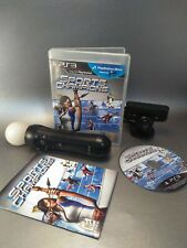 PS3 Playstation Move bundle with Sports Champions, Motion Controller, and Camera