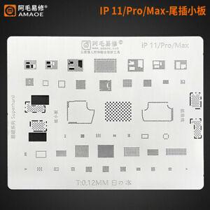 Ipad 5//Air//Mini 2 3 BGA reball stencil Vanne gabarit Reballing Brasage