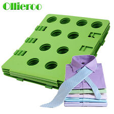 Ollieroo Adult T Shirt Clothes Flip & Fold Folder Board Laundry Organizer Green