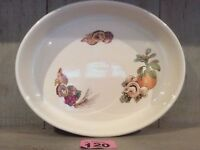 Royal Worcester Oven to Table Ware oval porcelain dish Autumn Fruits and Nuts