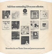 "Vintage INNER SLEEVE or SLEEVES 12"" EMI ADVERTISING Capitol DEAN MARTIN x 1"