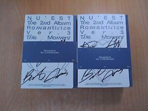 NU'EST - Romanticize (2nd Promo) with Autographed (Signed)