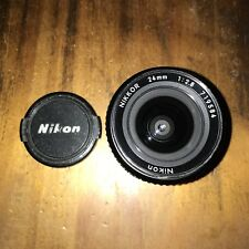 Nikon Nikkor 24mm LENS 1:2.8  - Japan