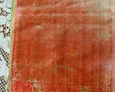 Antique 1600 French Or Italian Silk Velvet Fabric~Dolls,Study~Museum Deaccession