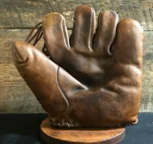 Vintage 1930s Wilson Rogers Hornsby Baseball Glove Old Antique