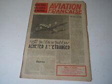 journal Aviation Française n°46 19.12.45 faut-il ou pas acheter à l'étranger