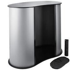 Vevor 3636 Trade Show Display Podium Table Counter Stand Portable Exhibition
