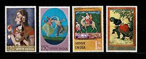 W0044 INDIA 1973 Indian miniature paintings MNH
