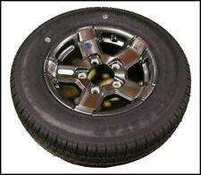 St145/r12 Triton 10384 Class E Snowmobile Trailer Tire With Aluminum Rim