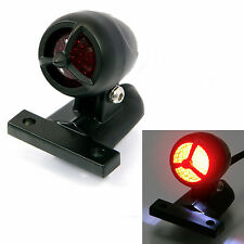Black Torpedo LED Stop Tail Light for Harley Davidson Sportster Custom Project