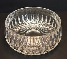 Gorham Full Lead Crystal Althea Bowl, D 8""