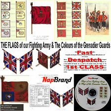 The flags of our fighting army & The Colours of the Grenadier Guards PDFs on CD