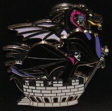 DISNEY Maleficent 3D Dragon on Castle Tower 2008 Villain Pin NEW ON ORIG CARD
