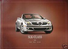 2008 Mercedes Benz SLK Brochure SLK-Class