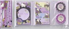 Sanrio Hello Kitty Sticky Notes In Folder Japanese Flower