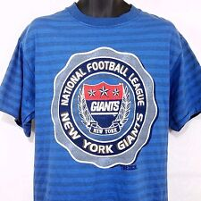 New York Giants T Shirt Vintage 90s Vaporwave Made In Usa Size Large Deadstock